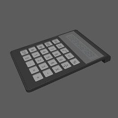 Highpoly Calculator (Miscellaneous) (hypesol) Tags: button calculate calculation calculator digital display electronic finance gray math mathematical mathematics minus money multiply numbers office plus screen sign subtract sum symbol tax tool