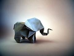 Elephant - Yukihiko Matsuno (Rui.Roda) Tags: origami papiroflexia papierfalten elefante elephant yukihiko matsuno