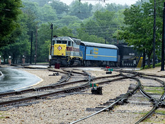 Erie Lackawanna 3607 (J Wells S) Tags: emdsd45 electromotivedivision gm erielackawanna3607 dieselelectriclocomotive train railroad el3607 museumoftransportation kirkwood stlouis missouri route66 themotherroad
