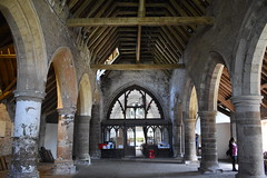 Inside the Nave (Dick Dangerous) Tags: uk britain marches wales grosmont church nave ancient