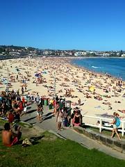 Bondi Beach, Sydney NSW, Australia, December 2014. (andrea.guidetti) Tags: australia nsw sydney bondibeach people 358daystravel traveling beach sea surf travel