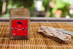 Pt and a spread toast (Le Casse-Crote Bangalore) Tags: products french madeinindia bangalore franais local pate pt