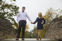 Jen & Chris (kevpereira_) Tags: ring tiffany engagement wedding knot nj nyc photography photoshop apple canon outdoor nature landscape portrait love couple kevin pereira instagram bridge trees fall leaves foilage minimalist abstract warm streetdreamsmag streetdreams