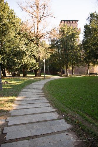 Rocca Albani - Il parco