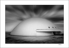The Dome / La Cupula (tmuriel67) Tags: architecture arquitectura abstract monochrome lines lineas blancoynegro blackandwhite blackwhite aviles asturias nikon minimalism geometry minimalismo niemeyer conceptual artwork