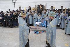 07. Arrival of Sanctities at Lavra / Прибытие святынь в Лавру 01.12.2016
