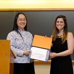Professor Frances Wang, Emily Hankosky: Sarah Mangelsdorf Award
