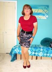 New Skirt (Trixy Deans) Tags: hot cute sexy classic tv boots cd crossdressing tgirl tranny transvestite miniskirt crossdresser skirts tg sexylegs classy leatherskirt shemale shortskirt miniskirts redboots sexyblonde tgirls shemales xdresser transvesite sexyheels trixydeans skirt sexytransvestite