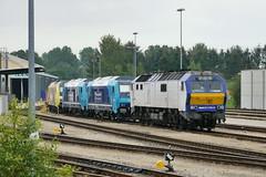 P2050753 (Lumixfan68) Tags: me de 26 eisenbahn mak nob bombardier traxx 245 loks 2700 di6 baureihe nordostseebahn paribus dieselloks sechsachser nahsh