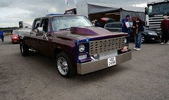 Chevy truck (Fast an' Bulbous) Tags: santa england car pits race speed drag pod nikon track power euro gimp fast september strip finals motorsport dragster santapod qualifying doorslammer d7100 worldcars
