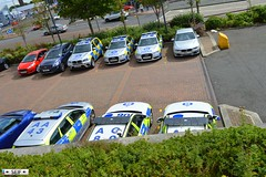 Photo of Road policing unit Motherwell 2015