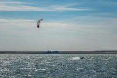 Flying my new to me Flysurfer Pulse2 foil kite.