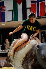 SAC Block Party (sccrgls5) Tags: party game canon golf photography student university photographer mechanical yes sac mini bull block methodist twister mu committee fayetteville activities