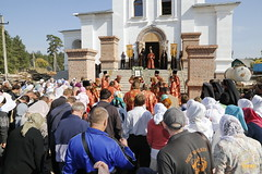 089. Patron Saints Day at the Cathedral of Svyatogorsk / Престольный праздник в соборе Святогорска