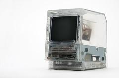 Apple Macintosh SE clear case prototype (jimabeles) Tags: apple macintosh se case clear prototype clearness