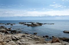 Costa Bava (Geziena) Tags: summer water vakantie spain nikon playa zee zomer spanje rotsen palafrugell middellandsezee 1770mm d7100