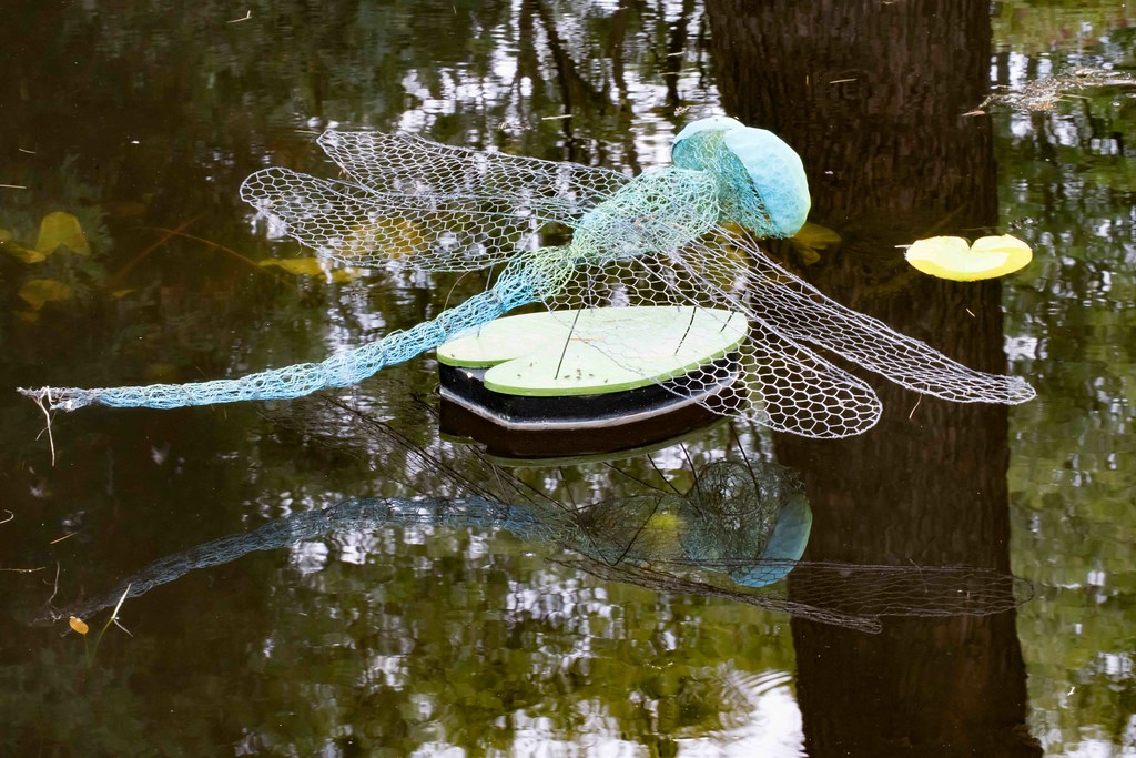 DRAGONFLY BY ANNE McGILL [SCULPTURE IN CONTEXT 2015]REF--10805361
