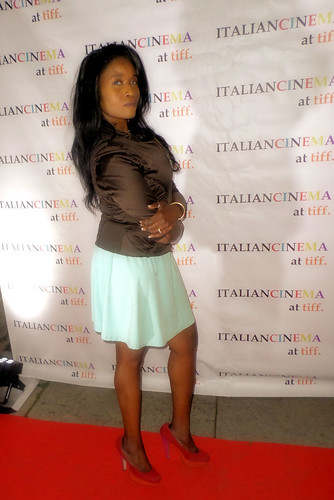 Queen Sabine at the Italian Party for TIFF