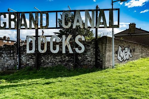 GRAND CANAL DOCKS [21 SEPTEMBER 2015] REF-10805469
