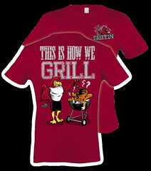 How We Grill Carolina (Eat More Tees) Tags: black college football south tiger cock grill carolina usc grilling clemson garnet gamecock collegefootball universityofsouthcarolina thisishowwegrill grillingclemsontiger eatmoretees