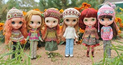 Justine-Nicky-Zina-Alex-Margo-Masha