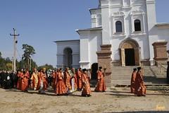 079. Patron Saints Day at the Cathedral of Svyatogorsk / Престольный праздник в соборе Святогорска