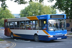 Stagecoach West 33307 AE51VFU (Will Swain) Tags: uk travel england west bus buses britain transport gloucestershire september gloucester seen 24th stagecoach 2015 33307 ae51vfu