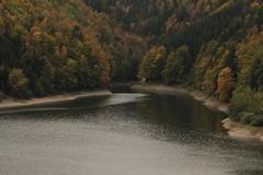 Lac de Montsalvens ( Stausee - See - lake - lago ) im Kanton Freiburg - Fribourg der Schweiz (chrchr_75) Tags: oktober christoph ch 2015 chrigu chrchr hurni chrchr75 chriguhurni chriguhurnibluemail hurni151005 albumzzz201510oktober