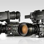 デジタルシネマカメラの写真
