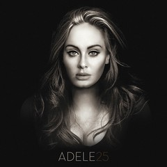 Adele - 25 (alexdotpsd) Tags: blue art design artwork graphic you 21 album deep like cover 25 single someone adele 19 rolling 2015 fanmade