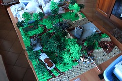 Restyling - W.I.P. (kr1minal) Tags: lego nazi wwii german diorama moc allied brickmania