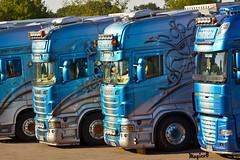 """Scania R II Topline """" KONZACK """" (D) (magicv8m) Tags: d transport ii r trans scania lkw tir topline konzack"""