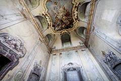 Abandoned mansion, somewhere in Italy. (ste_peg) Tags: italy abandoned architecture design decay exploring urbanexploration villa mansion fresco decadence urbex stepeg