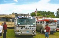 Greyhound Scenicruiser (trainphotoz) Tags: irm illinoisrailwaymuseum greyhound scenicruiser vintagetransportationextravaganza