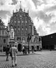 house of blackheads (Satirenoir) Tags: plaza building architecture latvia cobblestone ornate oldtown riga blackheads houseofblackheads