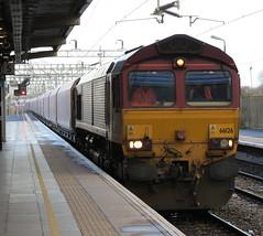 Bletchley (DarloRich2009) Tags: miltonkeynes buckinghamshire bucks dbs bletchley class66 ews westcoastmainline wcml englishwelshandscottish 66126 dbschenker bletchleystation marstonvaleline dbschenkerrailuk bletchleyrailwaystation