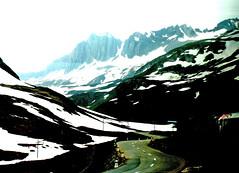 Swiss Alps (StJohn Smith1) Tags: mountains alps digital out landscape switzerland looking swiss trains alpine express railways enhancement