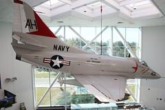 Douglas A-4E Skyhawk US Navy  149656/AH406 (NTG's pictures) Tags: museum hall us florida aviation main navy national douglas naval skyhawk pensacola the a4e 149656ah406