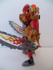 Toa Tahu, masta of fiyah (Toxic Geek) Tags: lego bionicle moc revamp tahu ccbs