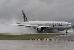 Qatar A7-BEB 6-12-2015 (Enda Burke) Tags: travel england holiday man window rain plane canon manchester evening fly flying wings holidays flight wing engine spray apron landing emirates motionblur engines 7d planes pan boeing panning terminal3 takeoff 777 runway pilot flightdeck manchestercity pennines doh doha qatar manchesterairport winglets taxiing terminal2 terminal1 rvp manc taxiway boeing777 b777 egcc qatarairways triple7 777300 7773 b777300 manairport landingear runwayvisitorpark 7dmk2 runwayvistitorpark t3carpark manchesterrunwayvisitorpark a7beb canon7dmk2