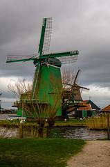 _DML1498 (duncen.mcleod) Tags: windmill ren marken zaanseschans molens paardvanmarken oudehuisjes ren