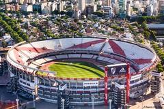 Estadio del River (Augusto Silva Otero) Tags: argentina paisaje urbano estadios areo