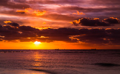 Brighton Beach (PhilT2013) Tags: sunset brighton brightonbathingboxes cokinfilters canoncollective