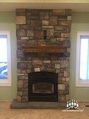 Southern Hackett (Color: Quarry) (Kodiak Mountain Stone) Tags: fireplace design kodiak mountain stone kodiakmountainstone homebuilder customhome luxury house dreamhome raymond