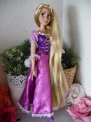 Now she is on eBay. (MINAcocodolls) Tags: rapunzel tangled onsale disney repaint ooak doll ebay singingdoll