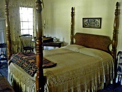 The Lord is My Shepherd.... (~ Cindy~) Tags: plantation antebellum room guest family davis mountain stone georgia 2014 april bed rest of day