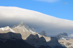 A trip to the mountains to enjoy the fall colours Alberta and  British Columbia (davebloggs007) Tags: alberta british colombia banff national park kootnay chinook cloud mt rundle