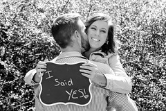Rhyan & Aleah - engagement shoot (JLWestlin) Tags: countryheartphotography jlwestlin jld photography engagement photoshoot love engaged happy chalkboard isaidyes ideas blackandwhite