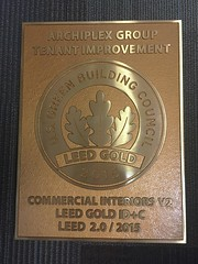 Bronze LEED Certification Plaque with custom layout and additional custom wording (impactsigns.com) Tags: bronze leed certification plaque with custom layout additional wording