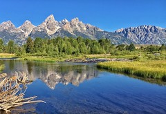 A Different View of Schwabacher (Ronnie Wiggin) Tags: adifferentviewofschwabacher teton range mountains gtnp grandtetonnationalpark moosewyoming jacksonwyoming snakeriver landscape landscapes iphonephotography rwigginphotos